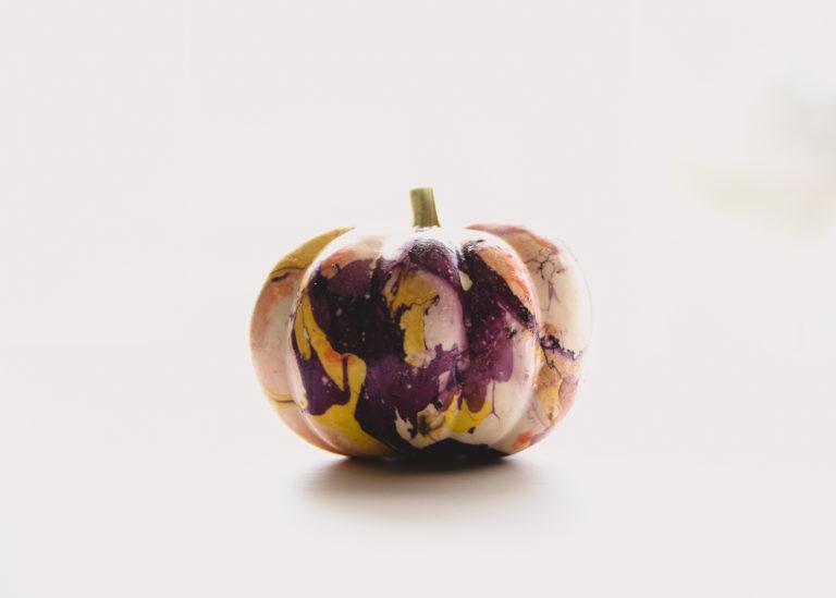 marble pumpkin